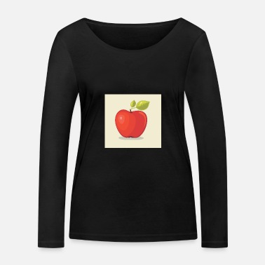 Imprint Apple imprint - Women's Organic Longsleeve Shirt