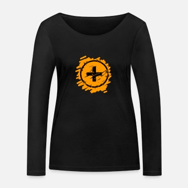 Optimism optimism - Women's Organic Longsleeve Shirt