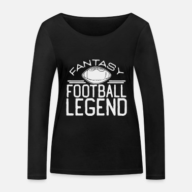 Football Fantasy football - Women's Organic Longsleeve Shirt