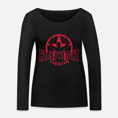 Heavyweight heavyweight fighter - Women's Organic Longsleeve Shirt