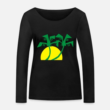 Holiday holiday holiday vacation - Women's Organic Longsleeve Shirt