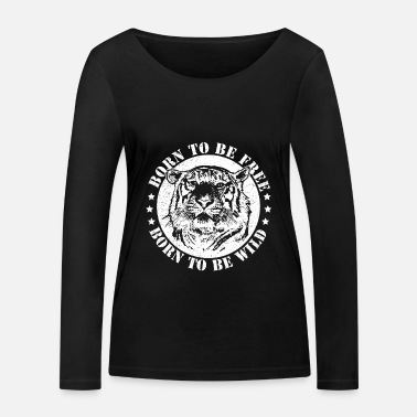 Date Of Birth Birth dates and to be wild! - Women's Organic Longsleeve Shirt