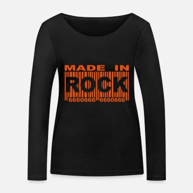 Made in Rock Code red II - T-shirt manches longues bio Femme