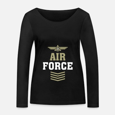 Airforce Air Force Airforce - Økologisk langærmet T-shirt dame