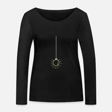 Light Bulb lamp LED light halogen LED neon - Women's Organic Longsleeve Shirt