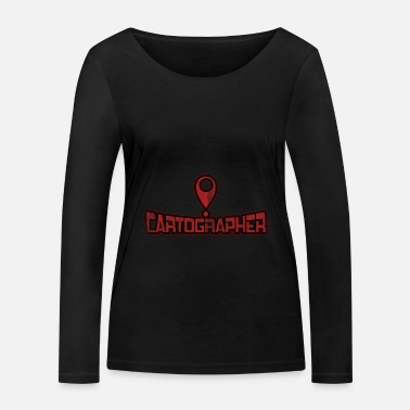 Cartography Cartography Where am I? - Women's Organic Longsleeve Shirt