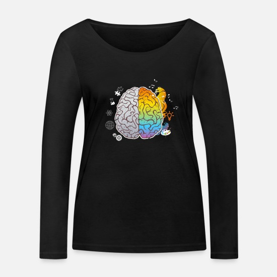 Image Long sleeve shirts - art - Women's Organic Longsleeve Shirt black