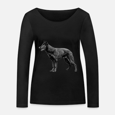 Shepherd German shepherd - Women's Organic Longsleeve Shirt