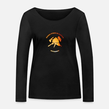 Donde Fire department, spanish departamento de bomberos - Women's Organic Longsleeve Shirt