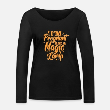 Baby Pregnancy Baby Pregnant Baby Bump Gift - Women's Organic Longsleeve Shirt