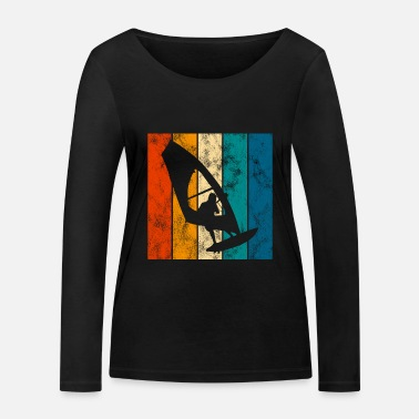 South Surfing Retro Windsurfing Windsurfing Windsurfer - Women's Organic Longsleeve Shirt