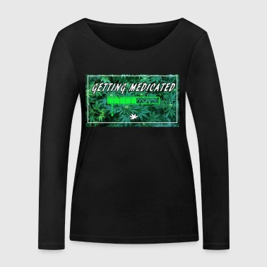 Getting Medicated - Women's Organic Longsleeve Shirt by Stanley & Stella