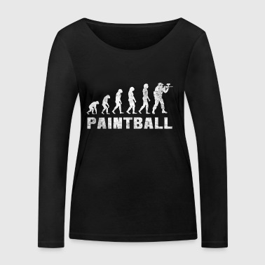 Evolution Paintball 2.0 - Paintball T-Shirt - Frauen Bio-Langarmshirt von Stanley & Stella