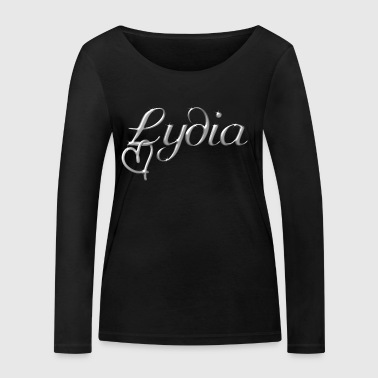 Lydia name first name name day - Women's Organic Longsleeve Shirt by Stanley & Stella