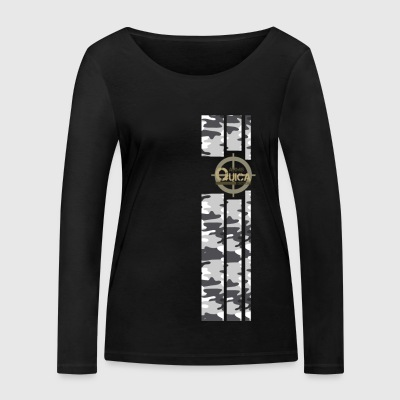 QUICK ARMS LOGO 4 - Women's Organic Longsleeve Shirt by Stanley & Stella