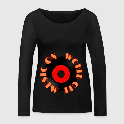 MUSIC_ON - Women's Organic Longsleeve Shirt by Stanley & Stella