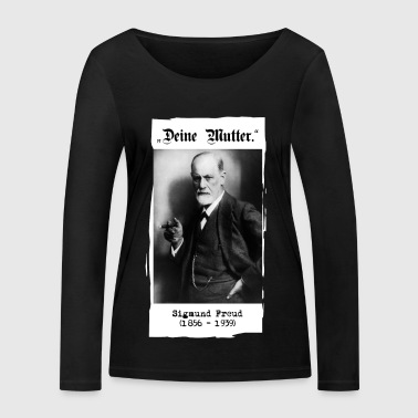 "Sigmund Freud - ""Your mother."" - Women's Organic Longsleeve Shirt by Stanley & Stella"