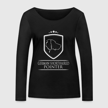 GERMAN SHORTHAIRED POINTER COAT OF ARMS - Women's Organic Longsleeve Shirt by Stanley & Stella