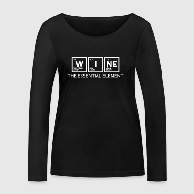 Wine - element - Women's Organic Longsleeve Shirt by Stanley & Stella