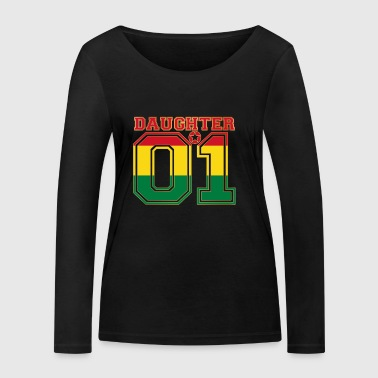 Daughter 01 daughter queen Bolivia - Women's Organic Longsleeve Shirt by Stanley & Stella