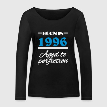 Born in 1996 Aged to perfection - Women's Organic Longsleeve Shirt by Stanley & Stella
