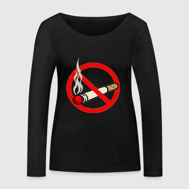 No smoking - Women's Organic Longsleeve Shirt by Stanley & Stella