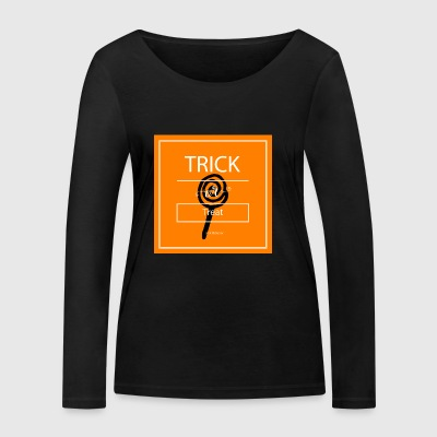 trick or treat - T-shirt manches longues bio Stanley & Stella Femme