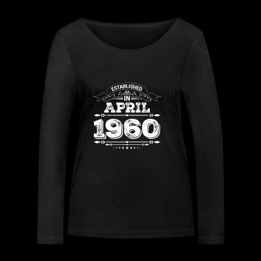 Established in April 1960 - Frauen Bio-Langarmshirt von Stanley & Stella