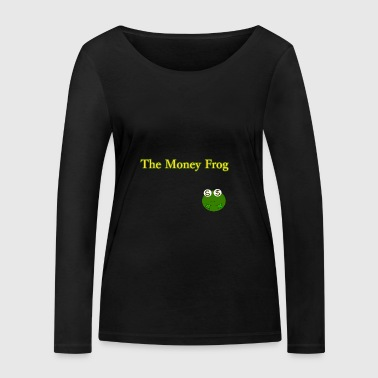 BIG The Money Frog - Maglietta a manica lunga ecologica da donna di Stanley & Stella
