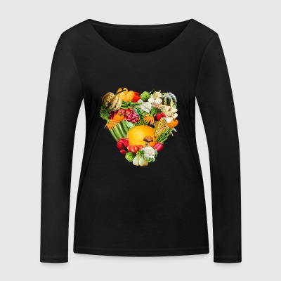 corn corn maize cereal veggie vegetables vegetables - Women's Organic Longsleeve Shirt by Stanley & Stella