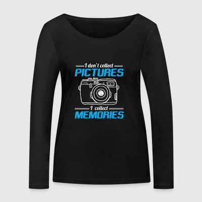 CAMERA PHOTO PHOTOGRAPHER: I DO NOT COLLECT PICTURES - Women's Organic Longsleeve Shirt by Stanley & Stella
