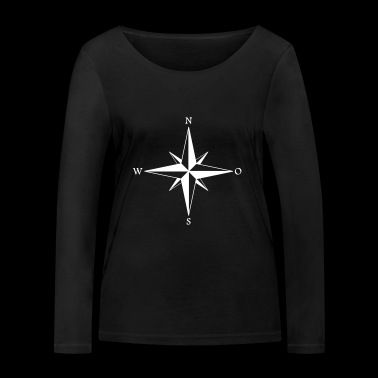 wind rose - Women's Organic Longsleeve Shirt by Stanley & Stella