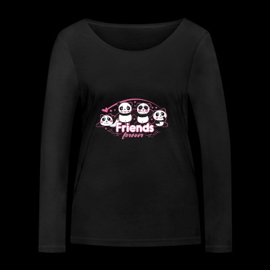 friends forever - Women's Organic Longsleeve Shirt by Stanley & Stella