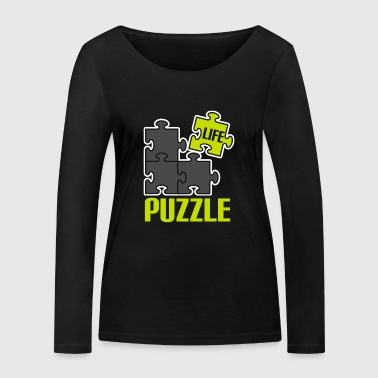 Play puzzle game puzzle mind mind new n - Women's Organic Longsleeve Shirt by Stanley & Stella