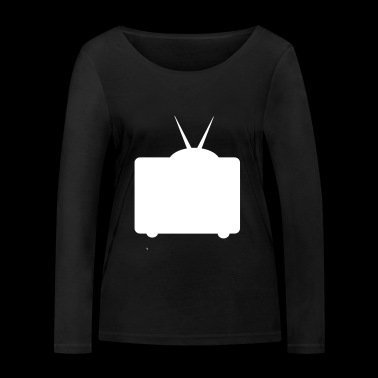 suchbegriff 39 fernsehen 39 langarmshirts online bestellen spreadshirt. Black Bedroom Furniture Sets. Home Design Ideas