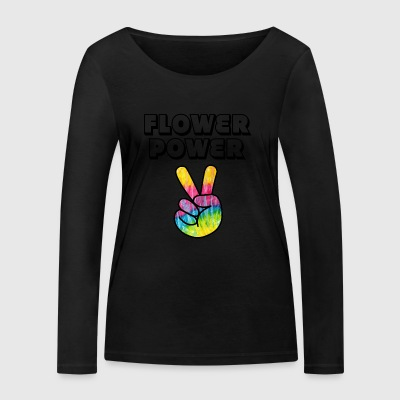 Flower Power - Women's Organic Longsleeve Shirt by Stanley & Stella