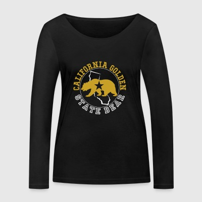 Californie Golden State Ours - T-shirt manches longues bio Stanley & Stella Femme