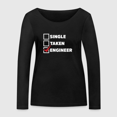 Single Taken Engineer - Frauen Bio-Langarmshirt von Stanley & Stella
