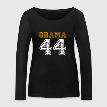 Obama 44 - Women's Organic Longsleeve Shirt by Stanley & Stella