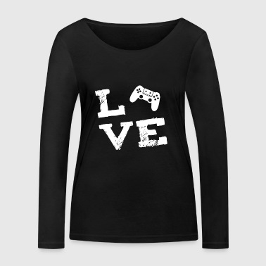Game Console Gamen console gamble love gift - Women's Organic Longsleeve Shirt by Stanley & Stella