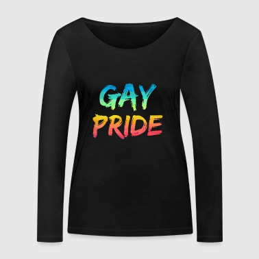 LGBT T-shirt - Gay Pride - T-shirt manches longues bio Stanley & Stella Femme