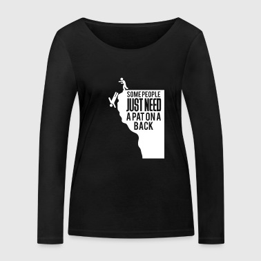 Funny saying - sarcasm - irony - Women's Organic Longsleeve Shirt by Stanley & Stella