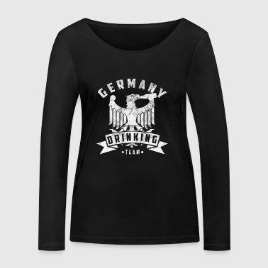 Germany Drinking Team Gift Malle Party - Women's Organic Longsleeve Shirt by Stanley & Stella