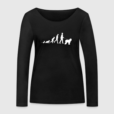 Old English Sheepdog Gifts Grow Evolution Man - Women's Organic Longsleeve Shirt by Stanley & Stella