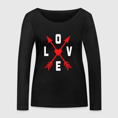 Love valentine day gifts - Women's Organic Longsleeve Shirt by Stanley & Stella