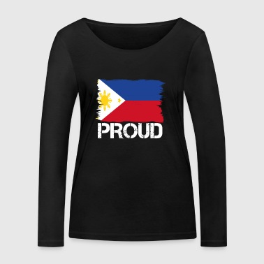 Pride flag flag home origin Philippines png - Women's Organic Longsleeve Shirt by Stanley & Stella