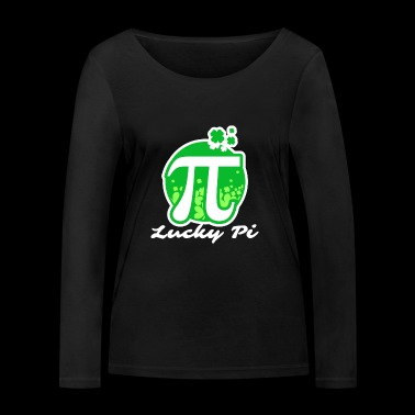 Lucky Pi - Pi Day - Women's Organic Longsleeve Shirt by Stanley & Stella