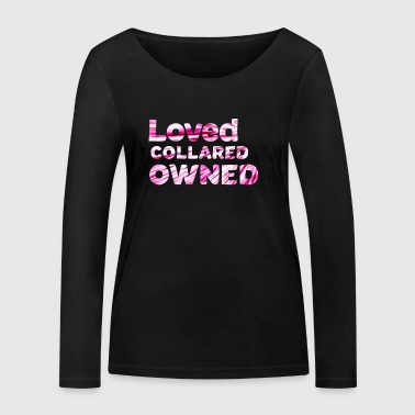 LovedCollaredOwned - T-shirt manches longues bio Stanley & Stella Femme