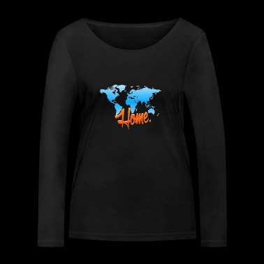 Mother Earth - Home Conservation - Women's Organic Longsleeve Shirt by Stanley & Stella