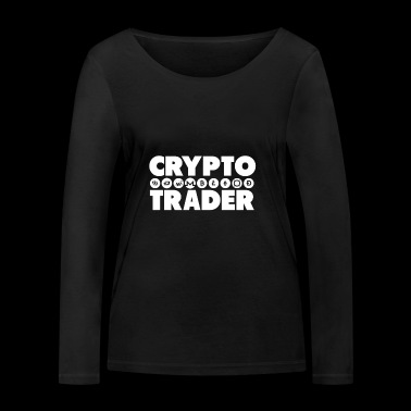 Trader Crypto - T-shirt manches longues bio Stanley & Stella Femme